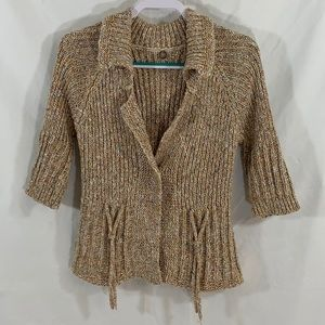 Anthropologie One Girl Who cardigan sweater